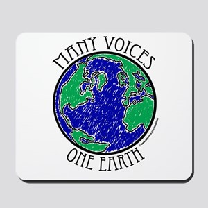 One Earth #2 Mousepad