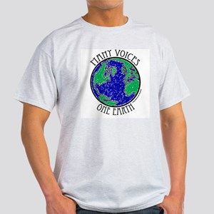 One Earth #2 Ash Grey T-Shirt