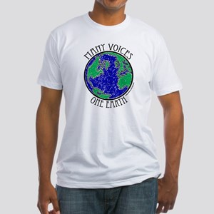 One Earth #2 Fitted T-Shirt