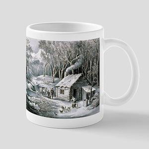 Home in the wilderness - 1870 11 oz Ceramic Mug