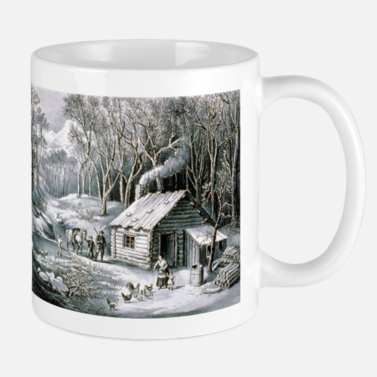 Home in the wilderness - 1870 Mug