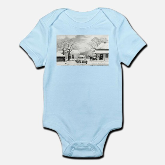Home to Thanksgiving - 1867 Infant Bodysuit