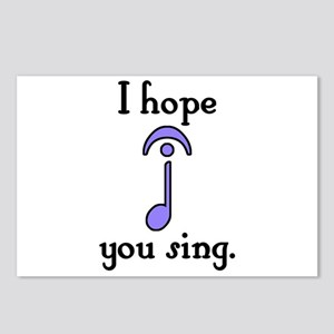 I Hope You Sing Postcards (Package of 8)