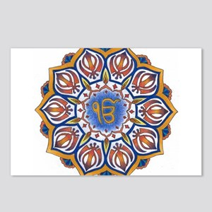 Ek Onkar Mandala Postcards (Package of 8)