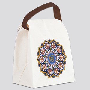 Ek Onkar Mandala Canvas Lunch Bag