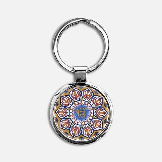 Ek Onkar Mandala Keychains