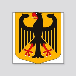 German Coat of Arms Rectangle Sticker