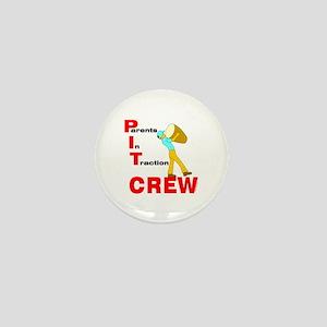 Pit Crew Band Parent Mini Button