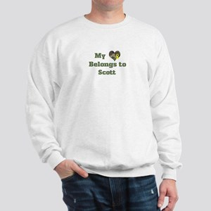 Scott: My Heart Sweatshirt
