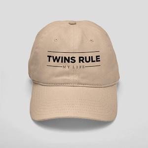 TWINS RULE My Life Baseball Cap