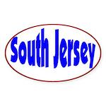 South Jersey Oval Sticker