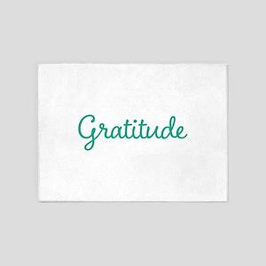 Gratitude 5'x7'Area Rug