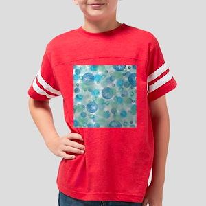 Blue Bubbles Youth Football Shirt