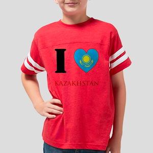 2-ilovekaz4 copyW Youth Football Shirt