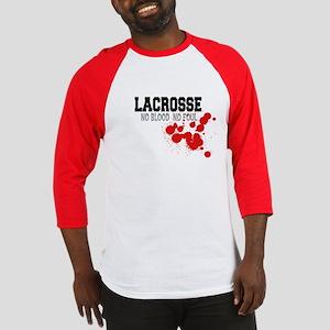 No Blood No Foul Lacrosse Baseball Jersey