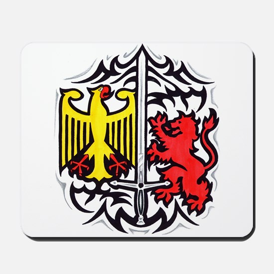 Rampart Lion and Eagle Mousepad