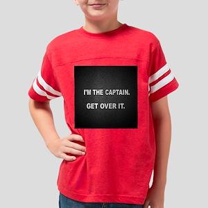 2-button 3.5x3. IM THE CAPTAI Youth Football Shirt