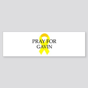 Pray for Gavin Bumper Sticker