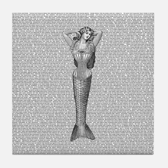The Little Mermaid Tile Coaster