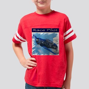 Race Pilot #1B ft Youth Football Shirt