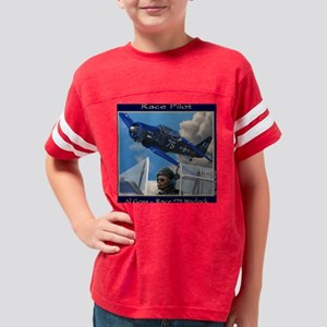 Race Pilot #1v T2 Youth Football Shirt