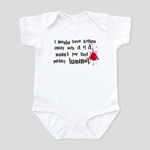 ...pesky luminol Infant Bodysuit