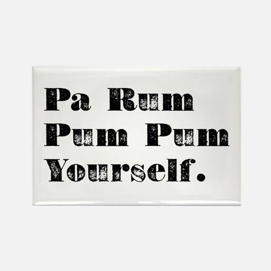 Pa Rum Rectangle Magnet