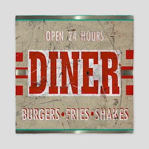 Diner-12 Queen Duvet