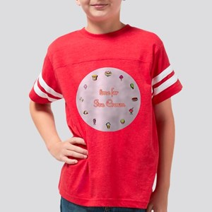 clock Youth Football Shirt
