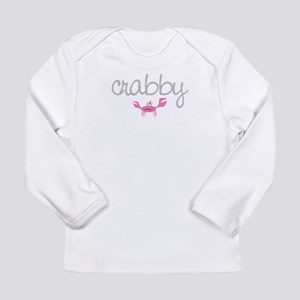 mom and baby crabby Long Sleeve T-Shirt