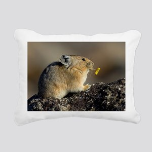 Trumpeting the Sunrise Rectangular Canvas Pillow