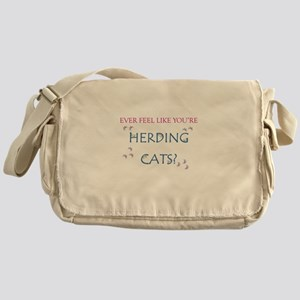 Herding Cats Messenger Bag