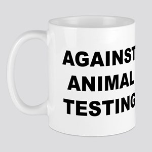 Against Animal Testing Mug
