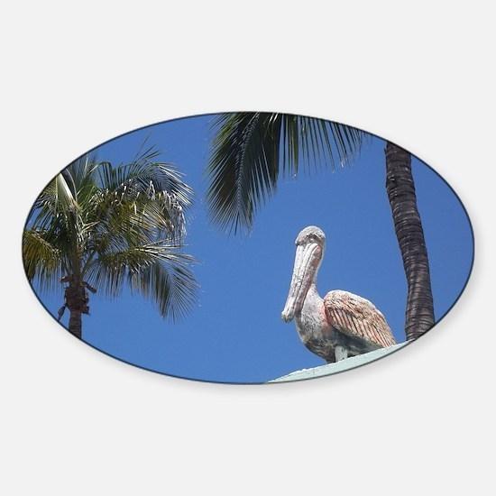 Pelican Bay Sticker (Oval)