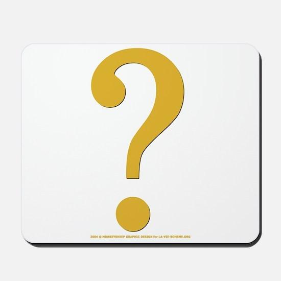 Gold Quest Mousepad