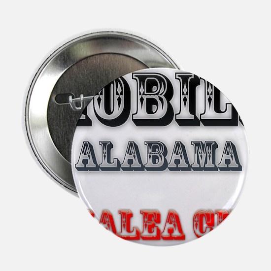 """Mobile Alabama Azalea City 2 2.25"""" Button (10 pack"""
