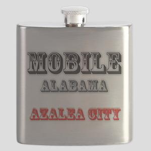 Mobile Alabama Azalea City 2 Flask