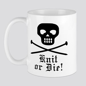 Knit or Die! Mug