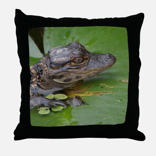 I Love Lily Throw Pillow