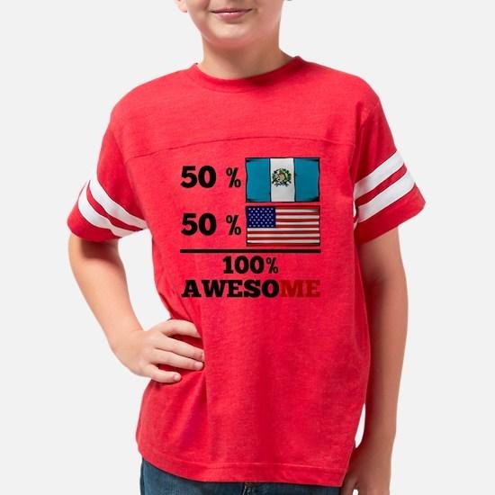 Cute Guatemala flag Youth Football Shirt