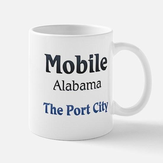 Mobile, Alabama - The Port City Mugs