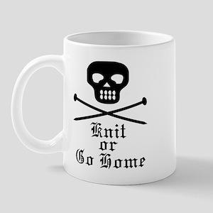 Knit or Go Home Mug