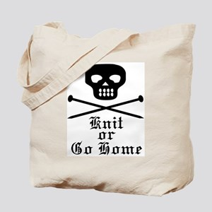 Knit or Go Home Tote Bag