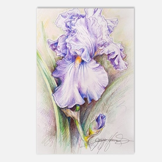 Funny Iris Postcards (Package of 8)