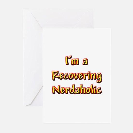 Recovering Nerdaholic Greeting Cards (Pk of 10