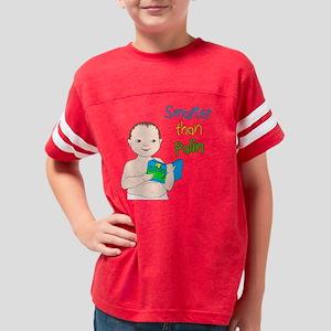 Smarter than Palin Lt Skin Youth Football Shirt