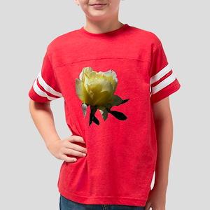Amazing Yellow Rose Youth Football Shirt