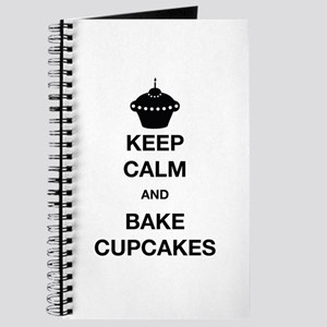 Keep Calm and Bake Cupcakes Journal