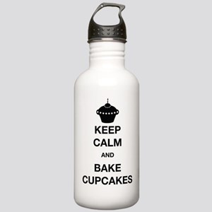Keep Calm and Bake Cup Stainless Water Bottle 1.0L