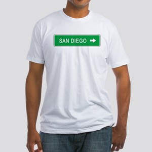 Roadmarker San Diego (CA) Fitted T-Shirt